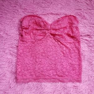 Lace Crop Top 🖤